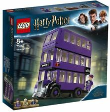 LEGO Harry Potter Knight Bus and 3 Minifigures 75957 BOX DAMAGED