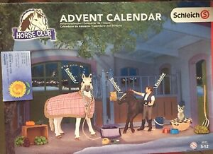 Adventskalender Schleich 97151 Weihnachten Calendar Pferde horse club OVP NEU