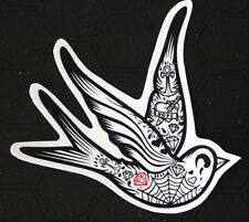 Swallow Bird PVC Sticker Rockabilly Tattoo Style Luggage Laptop