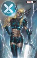 🔥 X-MEN #6 LUCIO PARRILLO EXCLUSIVE Trade Dress Variant NM Magik