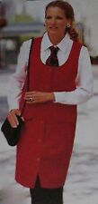 McCALL'S SEWING PATTERN 8456 2-HOUR JUMPER & SHIRT (10-12-14) PETITE-ABLE Uncut!