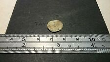 Nice Medieval lead disc with nice markings found in England L5s