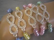 Handmade Lobster Infinity Costume Bracelets