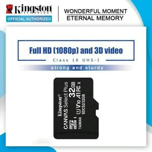 Kingston Micro SD Card 16GB Memory Card Class10 32GB 64GB 128GB 256GB TF/SD Card