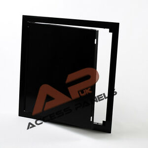 Metal BLACK Access Panels Inspection Panel Loft Hatch Ceiling Door Wall Hatch