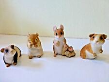 45 Assorted Animal figurines. (38 Mini Pigs, 4 Mice and 3 Hedgehogs!)