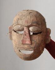 Antique 19th century temple dance mask INDIA