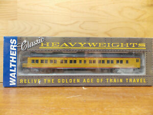 Walthers UP Union Pacific RTR Heavy Weights Pullman 3-2 Lounge Obs plan # 3959D