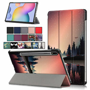 Case for Samsung Galaxy Tab S7 11'' 2020 SM-T870 Tri-Fold Stand Cover Wake/Sleep
