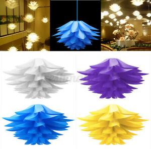 Modern Lotus Chandelier Pendant Ceiling Hanging Design Lamp shades DIY Decro F