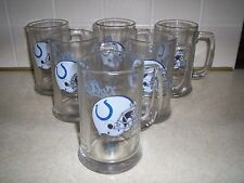 INDIANAPOLIS COLTS GLASSES SET OF SIX
