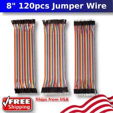 40 Pin Dupont Cables M-F, M-M, F-F Jumper Breadboard Wire Ribbon Pi Arduino Nano