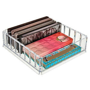 Acrylic Makeup Organizer Compact Makeup Palette Organizer 8 Spaces Makeup Holder