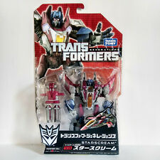 TRANSFORMERS GENERATIONS TG09 STARSCREAM (DELUXE) - TAKARA 2011, MOSC