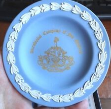 Wedgwood Jasper Worshipful Company of Fan Makers Special Commission Dish Undated