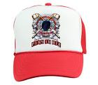 Trucker Hat Cap Foam Mesh Hockey Play To Win