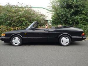 Saab 900 Classic - Black Mohair Soft Top Hood