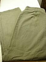 Basler Black Label  Woman's Pants Size 18 ( Actual 34X31 ) Olive Green