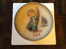 1971 first edition Mj Hummel Goebel collector plate
