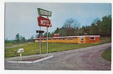Brewer Maine Mokler's Travel-lite Motel US 1A Vintage Postcard