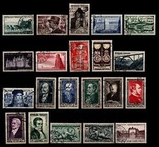 Déstockage : L'ANNÉE 1952 Complète, Oblitérés = Cote 103 € / Lot Timbres France