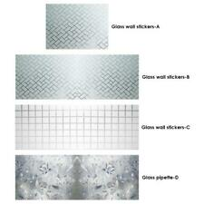 Glass Film 3D Frosted Door Window Sticker Privacy Adhesive Balcony Kitchen Decor