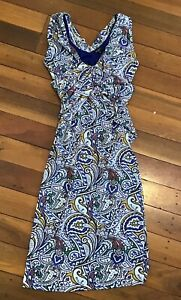Etro Italy Colourful stretch dress size 42