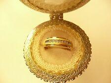 Zales 10k Gold Diamond Wedding Band Mens .20 TCW L@@K