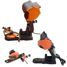 Electric Chain Saw Sharpener Bench Grinder Chainsaw Grinder Bench Mount 4800RPM!