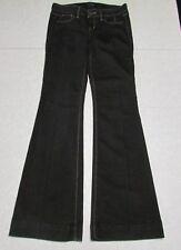 White House Black Market Jeans Women's Size S Black Stretch Flare No Zip