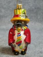 "Mercury Glass Happy New Year 2008 Penguin, 4"""