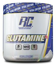Ronnie Coleman Signature Series-Pure Glutamine-Unflavored-120 Servings