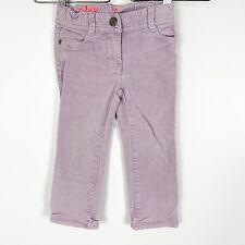 Crewcuts J.Crew Toddler Girls Corduroy Riley Purple Pants Sz 3T