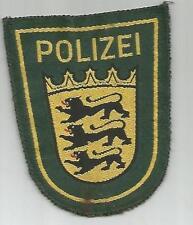 Uniformen & Effekten der deutschen Polizei (ab 1945)