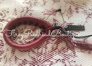 Balenciaga Cell Phone Strap / Key Ring / Key Fob - Sanguine