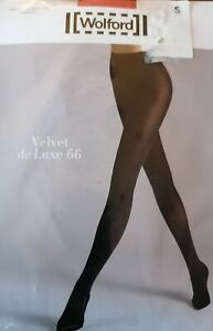 Wolford  Velvet De Luxe 66 tights rrp £25