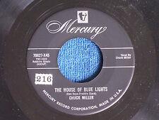 Chuck Miller/House of Blue Lights-Can't Help Wonderin'/Mercury 70627-X45/EX