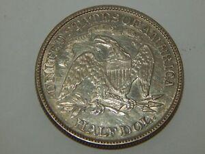 1876 - Silver Seated Liberty Half Dollar - 50¢
