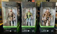 Hasbro Star Wars The Black Series: Return Of The Jedi Han Solo Leia Luke Endor