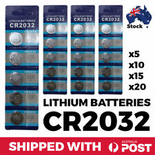 CR2032 Blister Pack 3V Lithium Button Coin Batteries BUTTON BATTERY