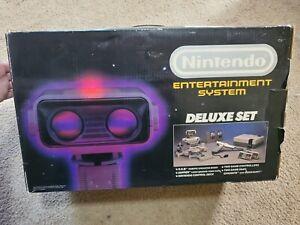 Nintendo NES Deluxe Set ROB THE ROBOT BOX ONLY! READ DESCRIPTION!!! FREE SHIP