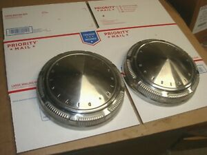 Plymouth Division dog dish hub caps mopar 1969 1970 1971 road runner fury duster