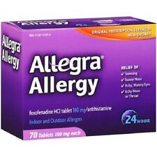 Allegra Allergy Non-Drowsy 24hr Tablets 70ct