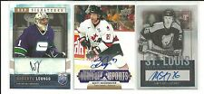 2011 UD WORLD OF SPORTS SCOTT NIEDERMAYER TEAM CANADA AUTO AUTOGRAPH