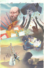 Silver Surfer: Requiem #2 p.11 - Around the World Splash 2007 art by Esad Ribic