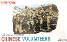 DRAGON MODELS 1/35th Scale CHINESE Volunteers Plastic Soldier Model KIT 6806 OOP