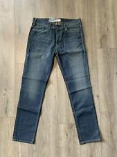 Levi's Premium 519 Slim Fit Skinny Leg Denim Blue Jeans - Men's 36 x 34