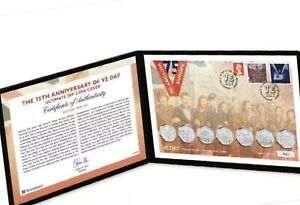 2020 50p VE Day Anniversary Ultimate 50p Coin Cover Ltd Edition Issue Only 750