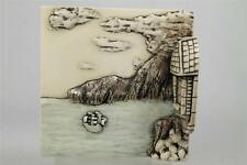 Harmony Kingdom 'The Sea' Picturesque Wimberley Tales Premiere Edition Tiles-New