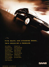 1998 SAAB 900SE 900 Coupe - Classic Vintage Advertisement Ad H02